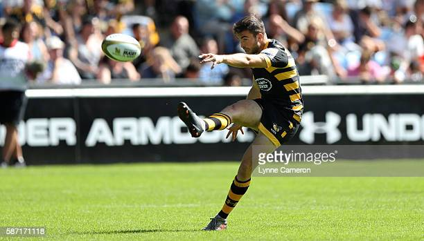 Craig Hampson of Wasps during the Quarter Finals match between Wasps and Harlequins in the Singha Premiership Rugby 7's Series Final at Ricoh Arena...