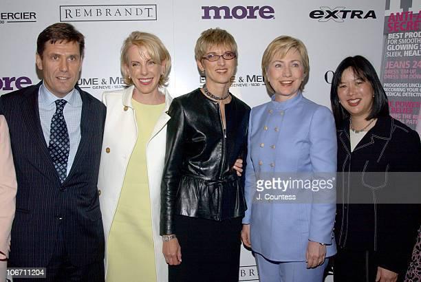 Craig Harden Carroll Campbell Peggy Northrop EditorInChief of MORE Magazine Senator Hillary Rodham Clinton and Jeanine ShaoCollins