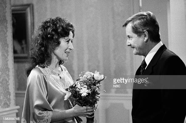 ST ELSEWHERE Craig in Love Episode 20 Pictured Rita Zohar as Doctor Vera Anya William Daniels as Doctor Mark Craig