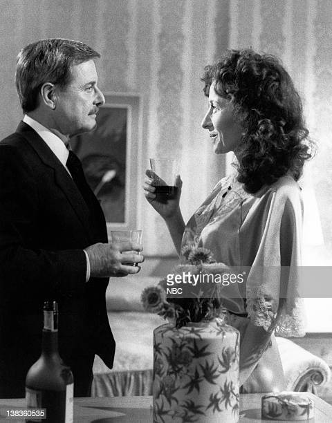 ST ELSEWHERE Craig in Love Episode 20 Pictured William Daniels as Doctor Mark Craig Rita Zohar as Doctor Vera Anya