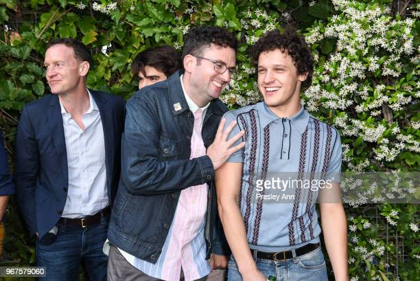 Craig Johnson and Antonio Marziale attend Special Screening And QA For Netflix's 'Alex Strangelove' at Los Angeles LGBT Center on June 4 2018 in Los...