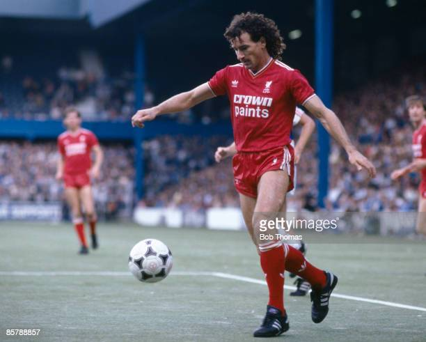 Craig Johnston in action for Liverpool against Queens Park Rangers at Loftus Road 5th October 1985
