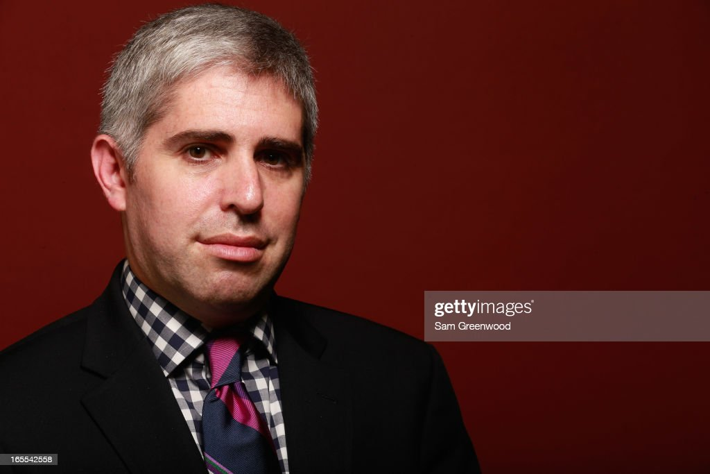 Craig Karmazin, Founder and CEO of Good Karma Broadcasting poses at the World Congress Of Sports Executive Portrait Studio on April 4, 2013 in Naples, Florida.