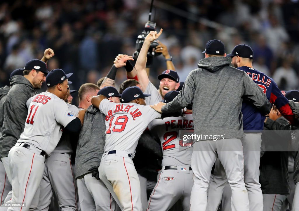 Divisional Round - Boston Red Sox v New York Yankees - Game Four : Fotografia de notícias