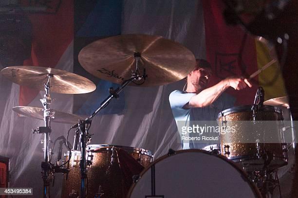Craig Kneale of Twin Atlantic performs on stage at The Liquid Room on August 11, 2014 in Edinburgh, United Kingdom.