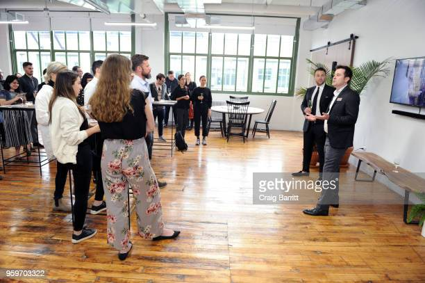 Craig Kostelic and Eric Black attend the AD Bon Appetit and Delta Faucet toast of the Conde Nast Kitchen Studio on May 17 2018 in New York City