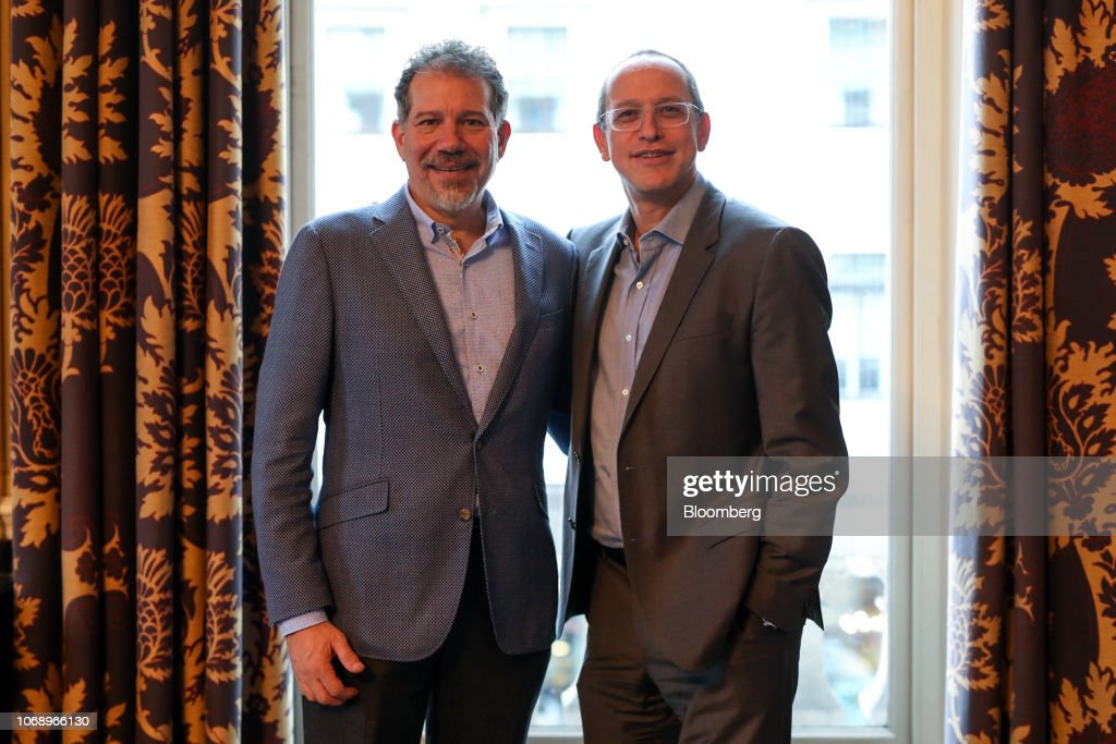 Virgin Atlantic Airways Ltd. CEO Craig Kreeger & CEO-designate Shai Weiss At Aviation Club : News Photo