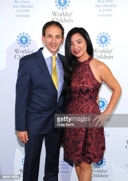 Craig Leibowitz and Eva Wen attend World of Children Awards 2017 at 583 Park Avenue on November 2 2017 in New York City