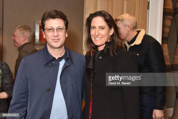 Craig Logan and guest attend the press matinee after party for Brief Encounter at The Haymarket Hotel on March 11 2018 in London England