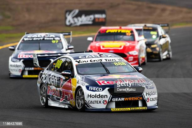 Craig Lowndes drives the Red Bull Holden Racing Team Holden Commodore ZB during race 28 for the Sandown 500 part of the 2019 Supercars Championship...
