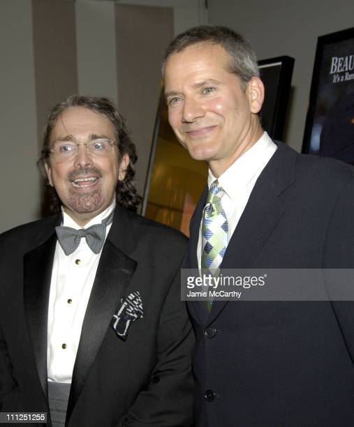 Craig Lucas and Campbell Scott during 5th Annual Young Friends of Film Honors Campbell Scott at Furman Gallery at The Walter Read Theater Lincoln...