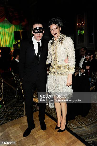 Craig McDean and Tabitha Simmons attend the Save Venice Enchanted Garden Ball at The Pierre Hotel on April 4 2014 in New York City