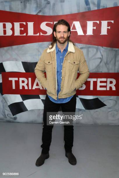Craig McGinlay attends the Belstaff AW18 Mens Womens Presentation during London Fashion Week Men's January 2018 on January 8 2018 in London England