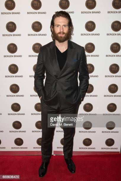 Craig McGinlay attends the Bergen Brand Handbag launch at Wolf Badger on March 16 2017 in London England