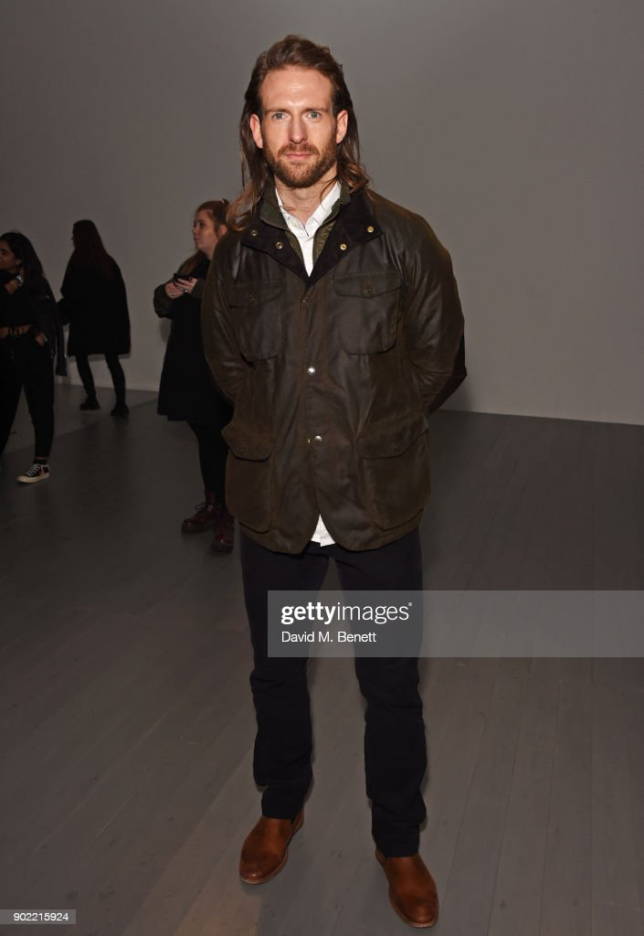 Craig McGinlay attends the Christopher Raeburn show during London Fashion Week Men's January 2018 at BFC Show Space on January 7, 2018 in London, England.