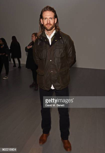 Craig McGinlay attends the Christopher Raeburn show during London Fashion Week Men's January 2018 at BFC Show Space on January 7 2018 in London...
