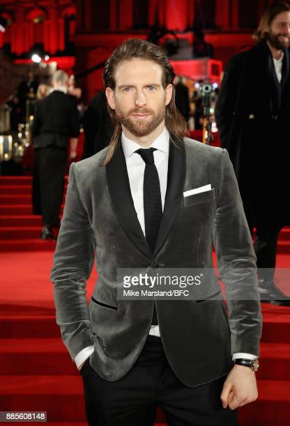 Craig McGinlay attends The Fashion Awards 2017 in partnership with Swarovski at Royal Albert Hall on December 4 2017 in London England