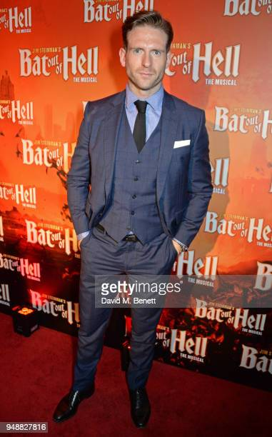 Craig McGinlay attends the Gala Night after party for 'Bat Out Of Hell The Musical' at the Bloomsbury Ballroom on April 19 2018 in London England