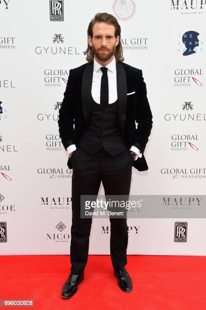 Craig McGinlay attends the Global Gift Gala for The Diana Award hosted by Earl Spencer at Althorp House on June 14 2017 in Northampton England