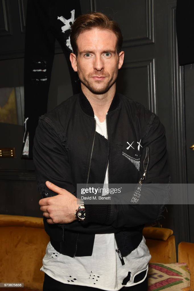 Craig McGinlay attends the MJB x YOTA fashion capsule party supported by Ciroc who have designed MJB x YOTA Limited Edition Bottles at The Scotch of St James on June 13, 2018 in London, England.
