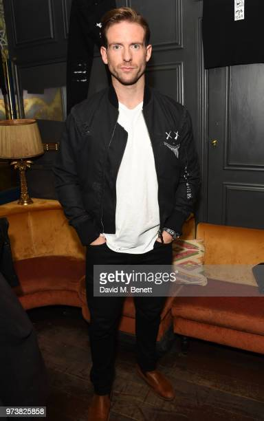 Craig McGinlay attends the MJB x YOTA fashion capsule party supported by Ciroc who have designed MJB x YOTA Limited Edition Bottles at The Scotch of...