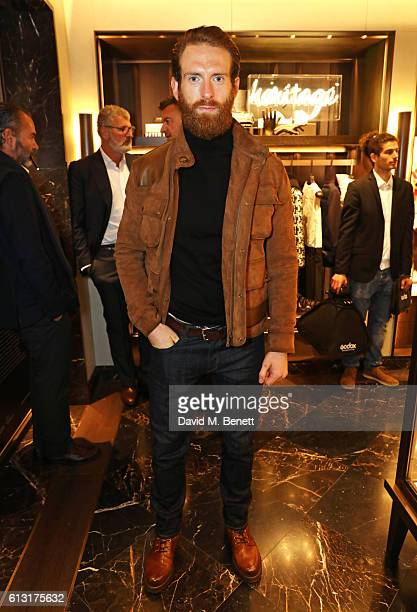 Craig McGinlay attends the Moncler RCA 'Freeze For Frieze' cocktail reception at the Moncler Bond Street Boutique on October 7 2016 in London United...