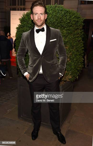 Craig McGinlay attends The Nelson Mandela Foundation Gala Dinner at Rosewood London on April 24 2018 in London England