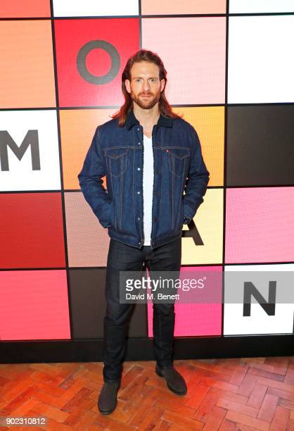 Craig McGinlay attends the Topman LFWM party at Mortimer House on January 7 2018 in London England