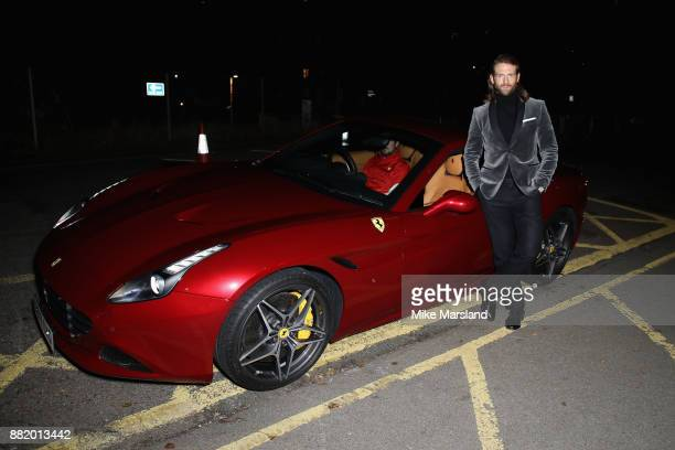 Craig McGinlay attends the UK launch event for the new Ferrari Portofino at Kensington Olympia on November 29 2017 in London England
