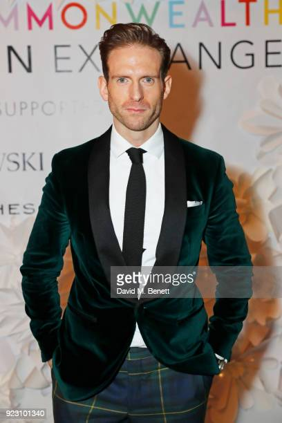 Craig McGinlay attends the VIP preview of the Commonwealth Fashion Exchange exhibition at the High Commission of Australia on February 22 2018 in...