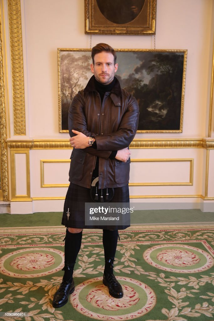Craig Mcginlay On The Front Row During London Fashion Week Mens