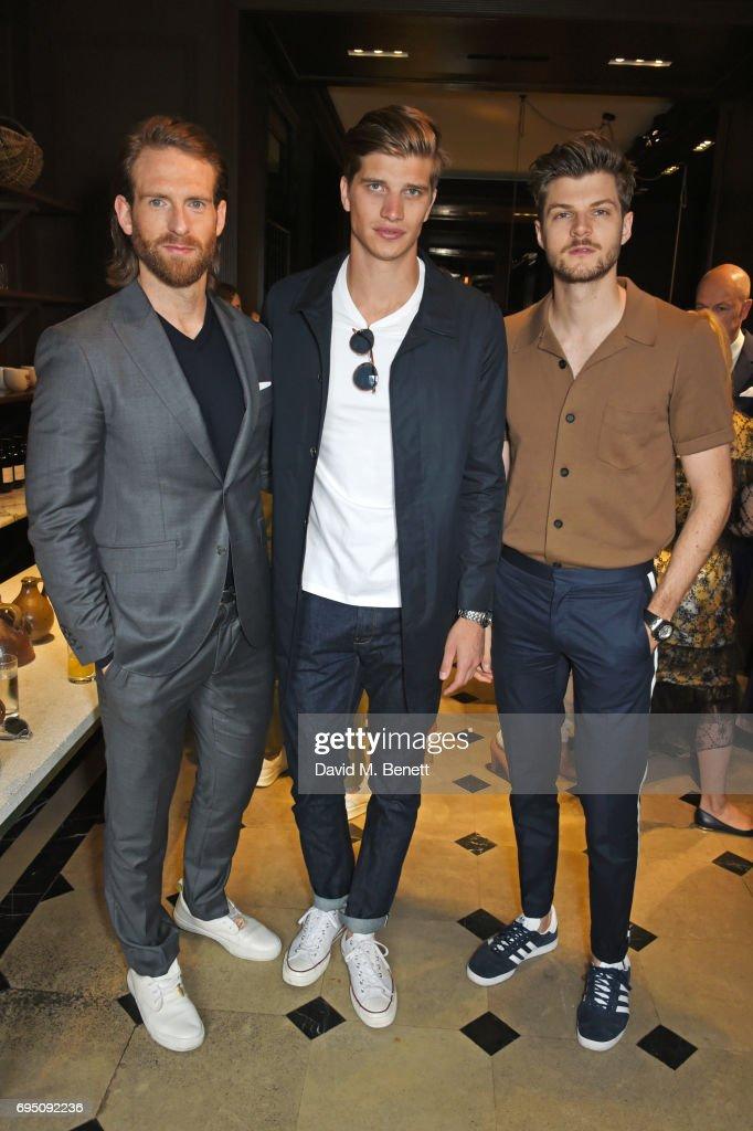 Christopher Bailey, Natalie Massenet And Dylan Jones Host A Breakfast In Celebration Of London Fashion Week Men's