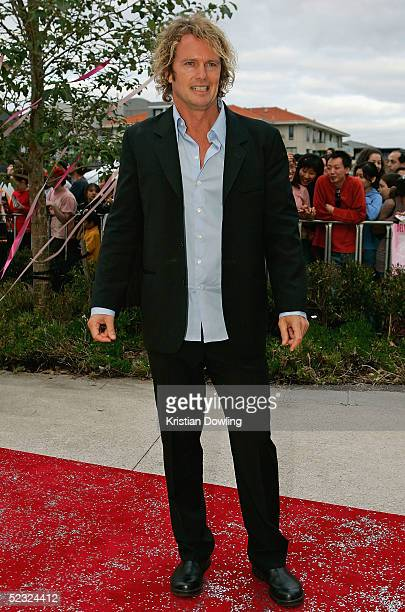 Craig McLachlan arrives on the red carpet at the movie premier of Hating Alison Ashley at Hoyts Victoria Gardens on March 9 2005 in Melbourne...