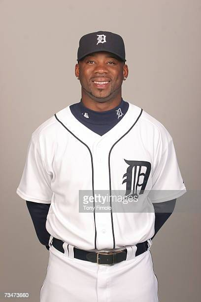 Craig Monroe of the Detroit Tigers poses during photo day at Marchant Stadium on February 24 2007 in Lakeland Florida
