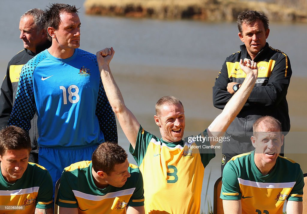 Australia Socceroos World Cup Team Photo-2010 FIFA Cup World Cup