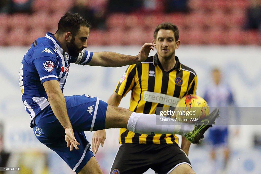 Wigan Athletic v Shrewsbury Town - Sky Bet Football League One : News Photo