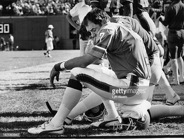 91979 SEP 2 1979 NOV 4 1981 NOV 8 1981 Craig Morton quarterback for the Broncos has good days and bad and his fans react accordingly