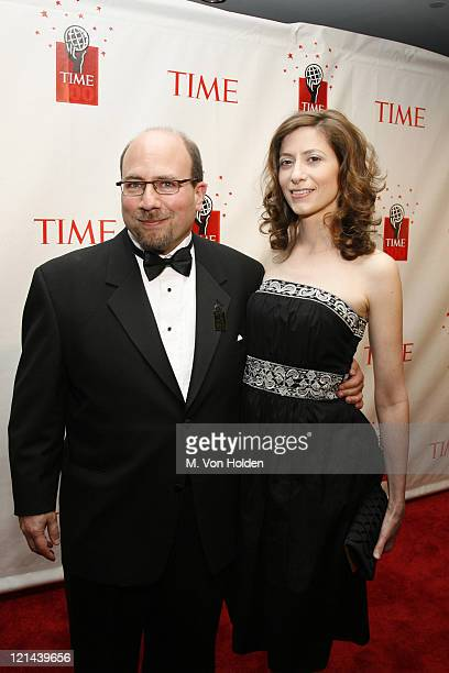 Craig New Mark Craigslist Founder and Wife during Time Magazine 100 Most Influential People 2006 Party at Jazz at Lincoln Center in New York New York...