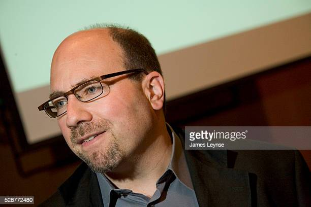 Craig Newmark the founder of the internet website Craigslist speaking at the Goldman Sachs Global Leaders Program in New York on July 9 2006