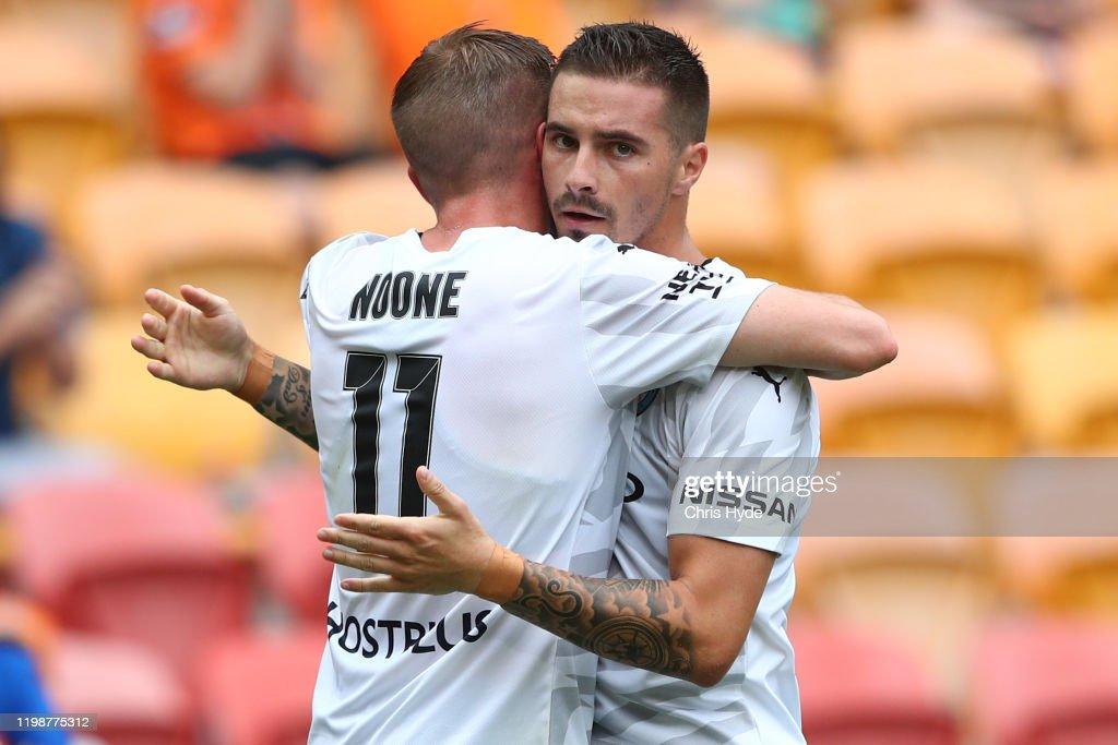 A-League Rd 14 - Brisbane v Melbourne City : News Photo