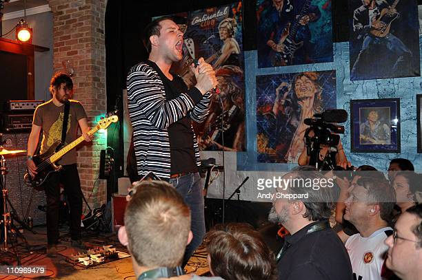 Craig Orzel and James Graham of The Twilight Sad perform at Maggie Mae's on March 16 2011 in Austin United States