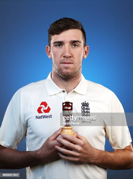 Craig Overton of England poses during the 2017/18 England Ashes Squad portrait session at the WACA on November 1 2017 in Perth Australia