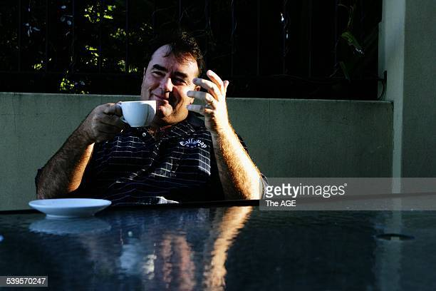 Craig Parry at his hime in the inner west of Sydney the day after he won the Heineken Golf Classic in Melbourne Taken 7th February 2005 THE AGE SPORT...