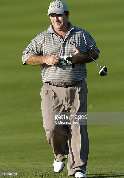 Craig Parry competes in the third round of the PGA Tour Ford Championship at Doral in Miami, Florida March 6, 2004.