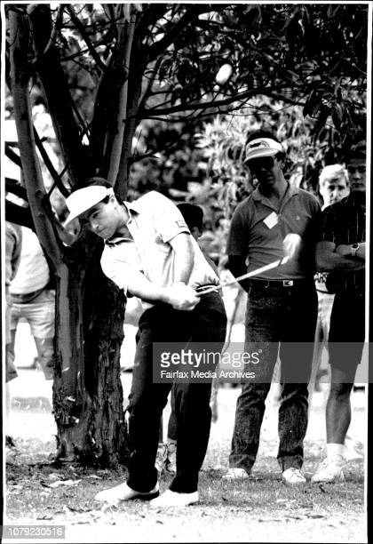 Craig Parry Golfer Personality October 22 1988