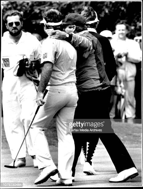 Craig Parry Golfer Personality October 26 1987