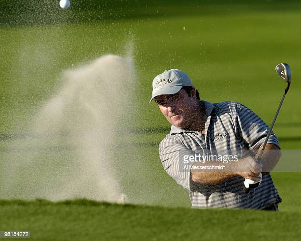 Craig Parry of Australia competes in the third round of the PGA Tour Ford Championship at Doral in Miami, Florida March 6, 2004. Parry led after...