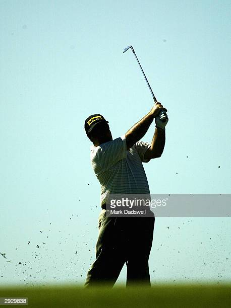 Craig Parry of Australia in action during day one of the Heineken Classic at Royal Melbourne Golf Club February 5, 2004 in Melbourne, Australia. .