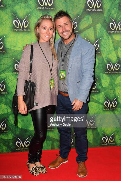 Craig Phillips attends the Cirque Du Soleil's OVO Premiere at The Liverpool Echo Arena on August 16 2018 in Liverpool England