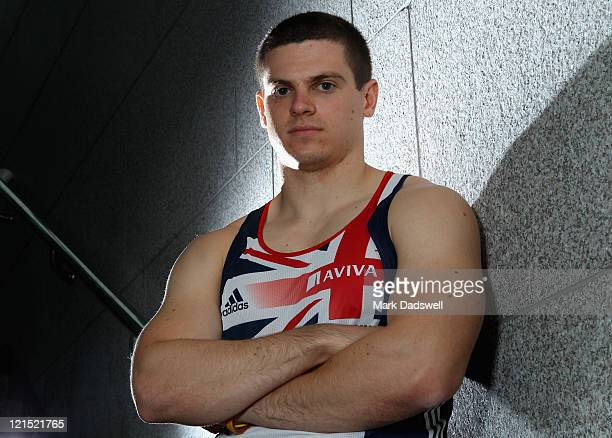 Craig Pickering of Great Britain and Northern Ireland poses for a portrait during the Aviva GBNI Team Preparation Camp on August 20 2011 in Ulsan...